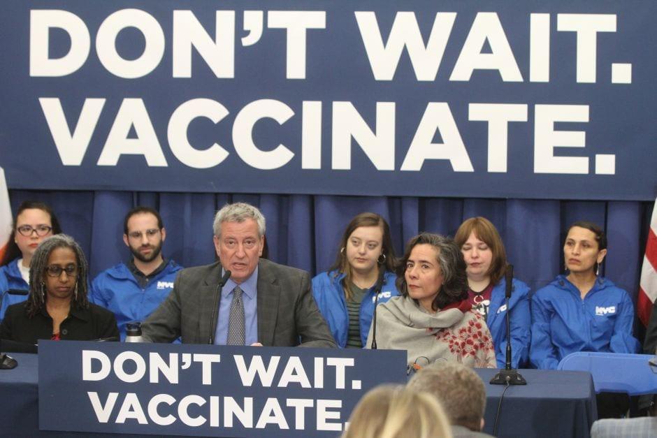Alertan sobre la realización de 'fiestas de sarampión' en Nueva York